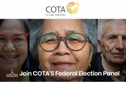 Be a voice for all older Australians this upcoming election preview image