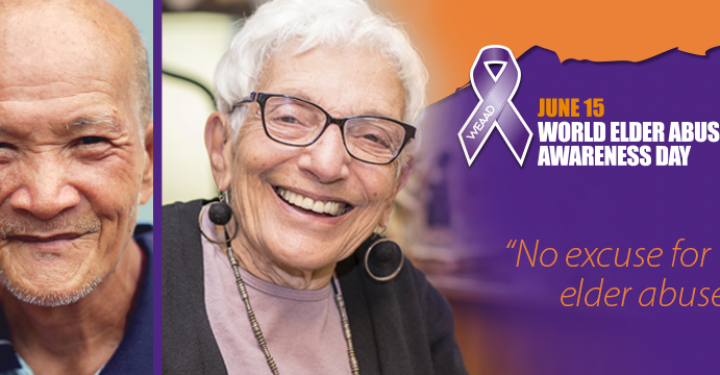World Elder Abuse Awareness Day 2019 – No excuse for elder abuse! preview image
