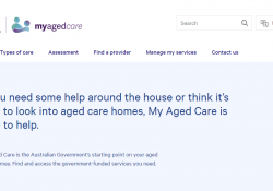 A new My Aged Care website preview image