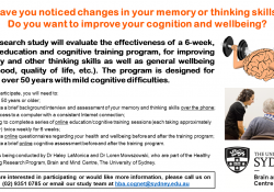 Are you or someone you know experiencing changes in your memory or thinking skills? preview image
