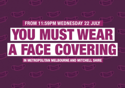 Face coverings – 11.59pm Wednesday 22 July preview image