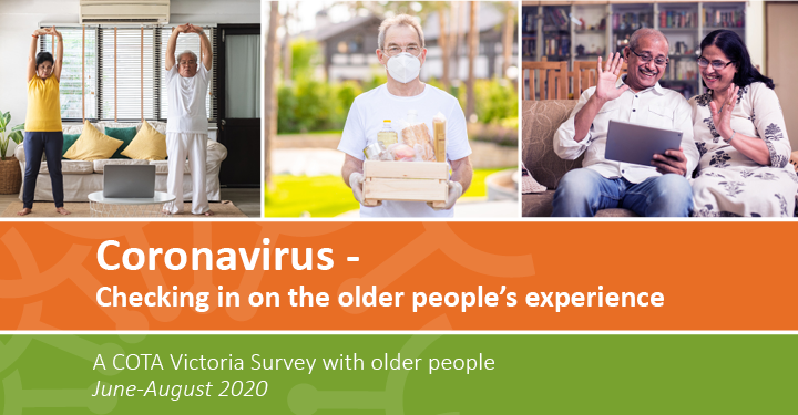 Coronavirus – Checking in on the older people's experience preview image