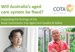 Will Australia's aged care system be fixed? preview image